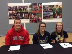 Three AMHS students commit
