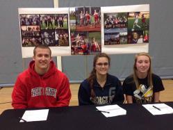 Three AMHS students commit